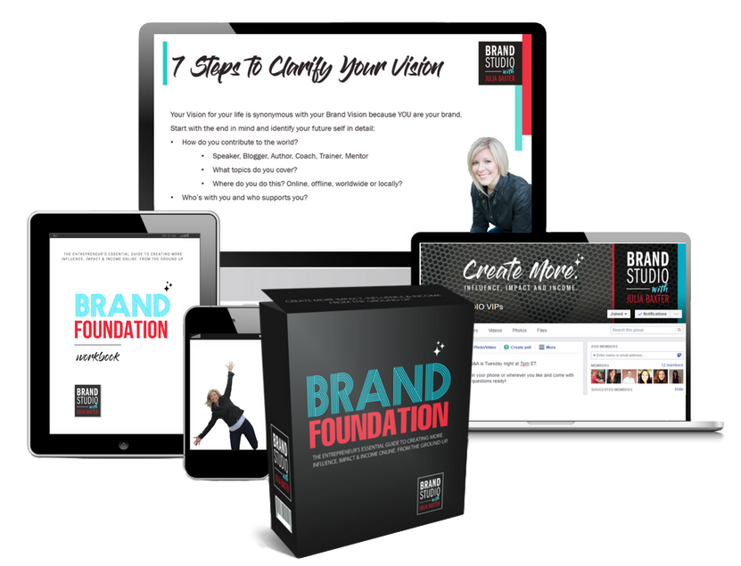 Brand Foundation Course by Julia Baxter